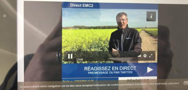 - EMC2 : un tour de plaine via la web TV